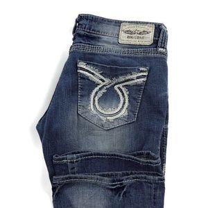 Big Star Liv Bootcut Blue Stretch Jeans